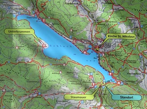 schluchsee karte Karte Schluchsee Schwarzwald   hanzeontwerpfabriek schluchsee karte